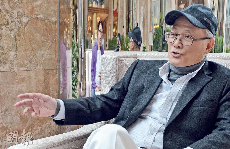 劉智傑認為,美國以至全球息口趨升是促使本港樓市泡沫爆破的原因之一。(劉焌陶攝)