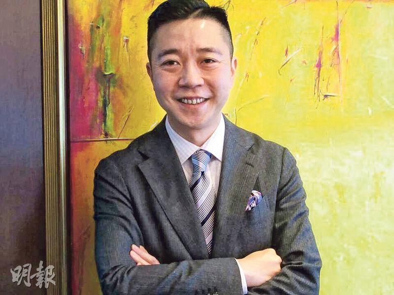 實德環球副主席馬浩文(圖)表示,旗下十六浦娛樂場緊貼市場走勢,現時日均人流約1萬至1.4萬。(陳偉燊攝)