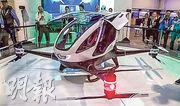 迪拜將成為全球第一個容許載客無人機營運的城市,採用機型是廣州億航研製的「億航184」。