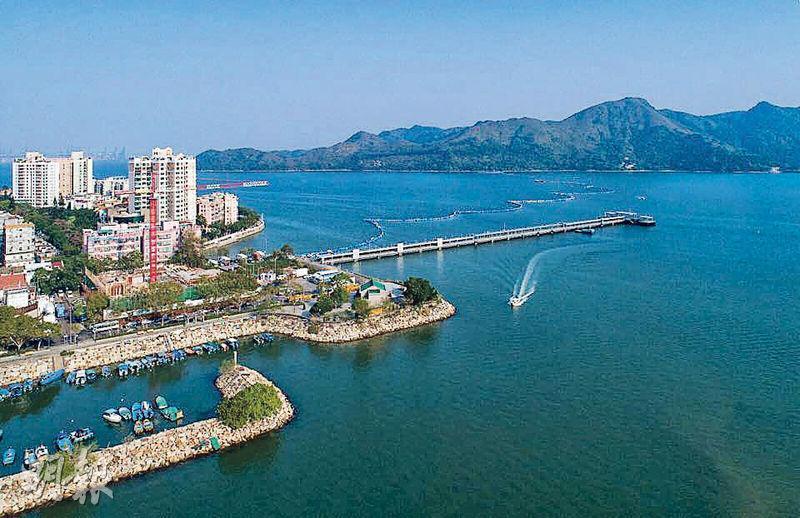 尚澄鄰近沙頭角碼頭。