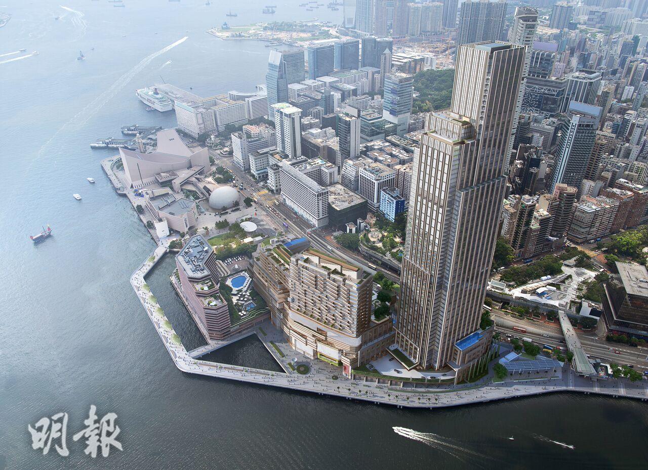 尖沙咀Victoria Dockside模擬圖片