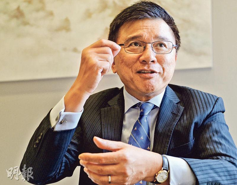 財經事務及庫務局長陳家強認為,現在無論在資金流情况、市場估值及投資者心態上,都與金融海嘯前有不少相似之處。(劉焌陶攝)