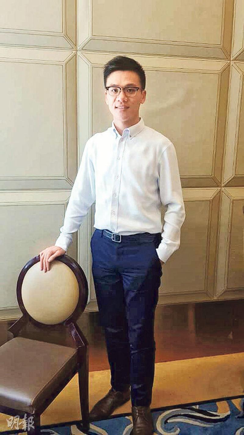 鄧成波孻仔兼STAN GROUP主席鄧耀昇(圖)昨日透露,擬將酒店項目上市,強調絕對有能力儲夠業績。(甘潔瑩攝)