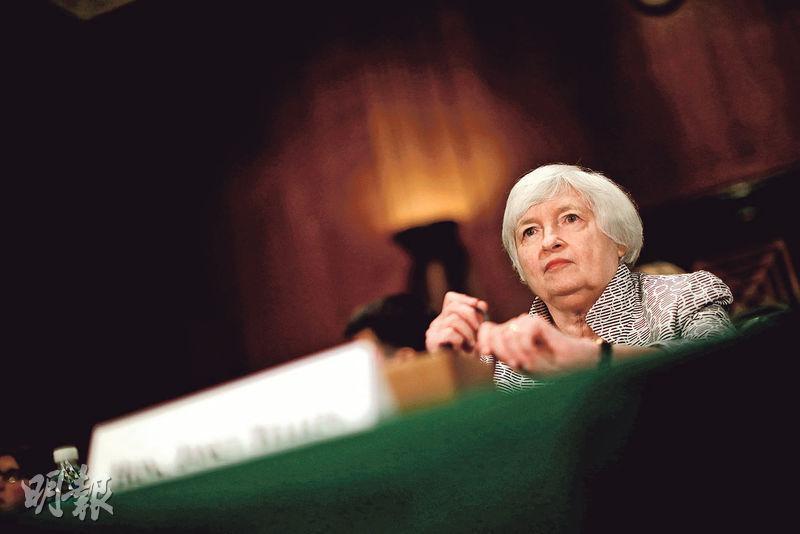市場人士認為,耶倫避談加息等問題,相當於確認了聯儲局觀察家的預期,即是聯儲局準備9月開始縮表,並在12月前也不會考慮加息。(路透社)