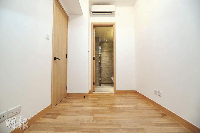 交樓標準示範單位——所有單位浴室均設於睡房內。