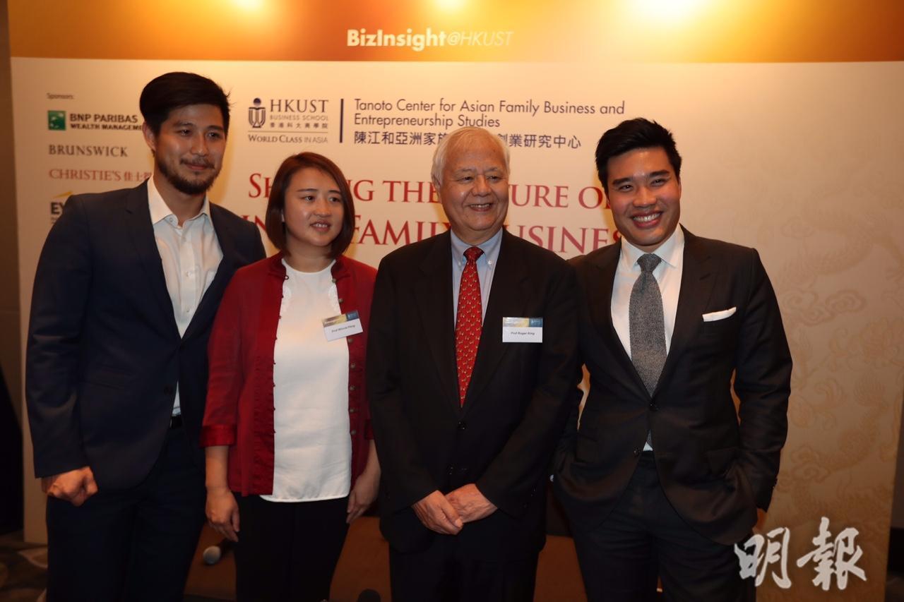 (左)Origami Labs行政總裁及九龍表行總經理黃家恒 (郭慶輝攝)
