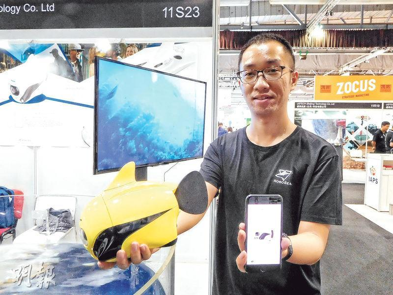 博雅工道(北京)機器人科技產品事業部總監李陽表示,BIKI採用完全無線遙控方式,完全潛入水中時,不能實時傳送視頻。