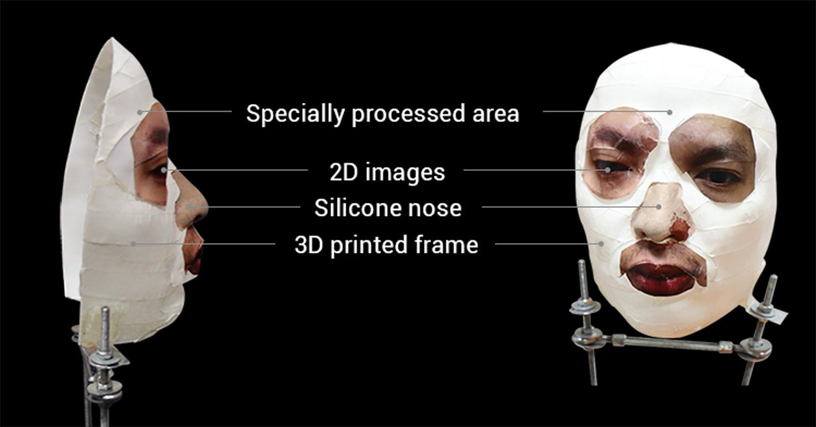 Bkav自家製作的面具