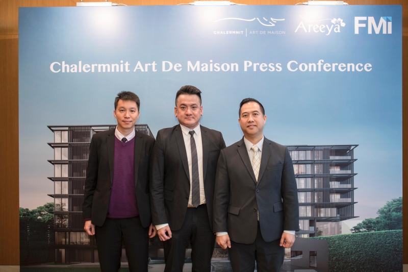 圖為香港代理商至匯投資香港管理層合照,左起:投資經理蘇君權、銷售及項目總監張永恒、項目經理吳志權。