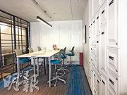寰圖辦公空間為初創企業,甚至中小企提供的綜合辦公室。(甘潔瑩攝)