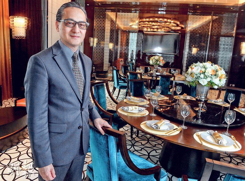 中海外地產董事總經理游偉光表示,計劃今年底推售大埔山塘路項目和飛鵝山道3號兩個全新樓盤。(劉焌陶攝)