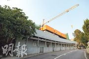 飛鵝山道3號提供5幢洋房,目前待批預售樓花同意書。(黃志東攝)
