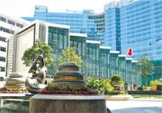 維港‧星岸售出的3號屋(紅箭嘴示),為屋苑首幢賣出的洋房物業,作價高見1.028億元,成為紅磡區內最貴住宅單位。(資料圖片)