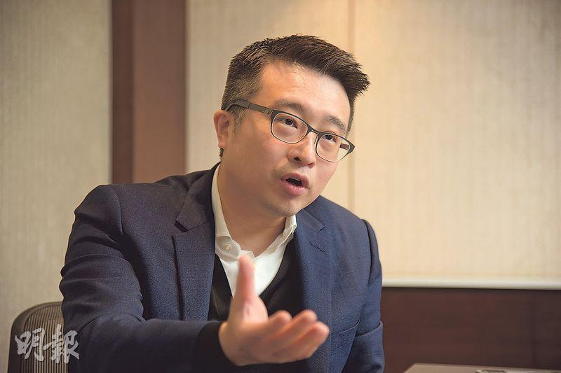 AMTD尚乘蔡志堅表示,香港市場除了尋找可投資的初創企業外,亦需要進行培育,當這些公司成長,市場亦會隨之擴大。(黃志東攝)