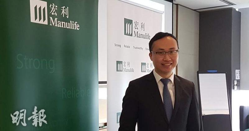 宏利香港個人理財產品業務部副總裁兼首席產品總監紀榮道 (歐陽偉昉攝)