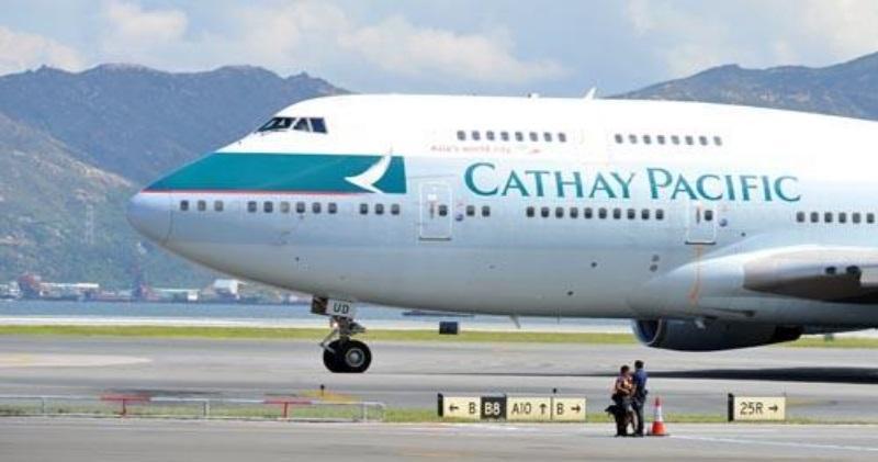 國泰(0293)4月載客量微跌0.8%。