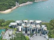 市場消息稱,由新地郭氏家族持有的深水灣香島道50號項目,已重建為10幢洋房,目前已有約半數洋房租出。(劉焌陶攝)