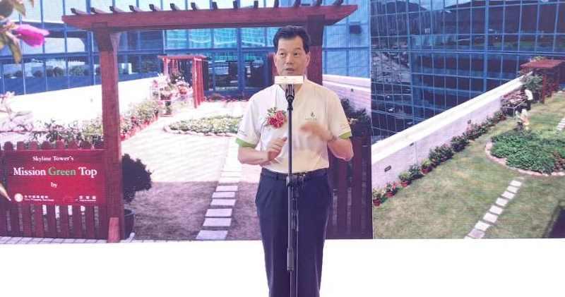信置執行董事楊光。林尚民攝