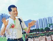 信置執行董事楊光認為,若政府開徵一手樓空置稅,必須清晰界定何謂「囤積居奇」。(劉焌陶攝)