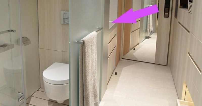 單位最大特點是洗手盆設於浴室外。資料圖片