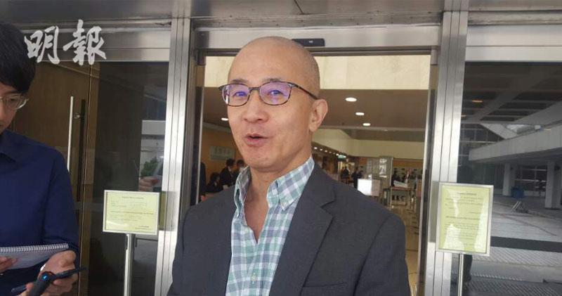 新福港集團主席羅啟瑞(陳偉燊攝)