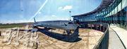 昨日到港的A350-1000將於本年7月1日率先啟航往來香港、台北兩地,並於9月15日加入往華盛頓新航線的運作。(凌沛恩攝)