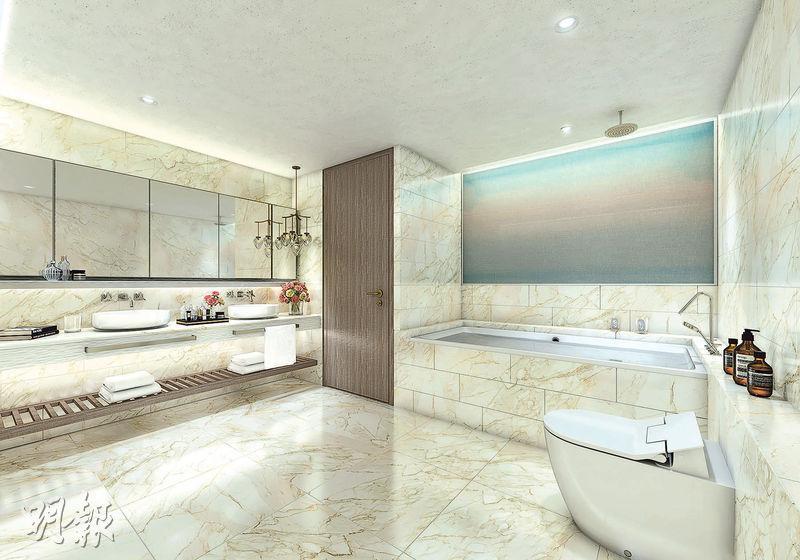 項目由英國王室御用建築師PDP London,以及日籍室內設計師Koichiro Ikebuchi操刀。