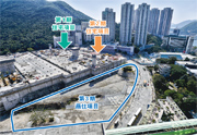 港鐵黃竹坑站第3期補地價金額近130億元,為港鐵歷來最貴的鐵路項目,而商場部分須交還港鐵持有。(資料圖片)