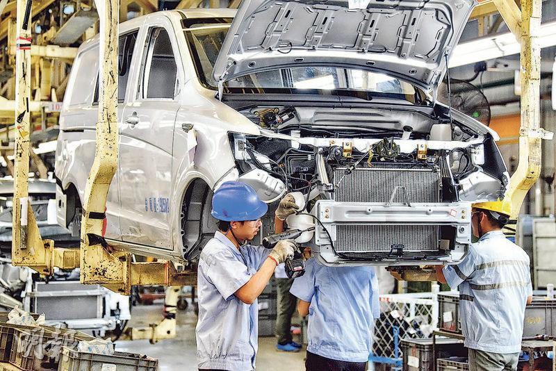中國6月製造業採購經理指數(PMI)遜預期,錄51.5,較預期的51.6稍低,按月亦回落0.4個百分點,但仍維持在擴張水平。(資料圖片)
