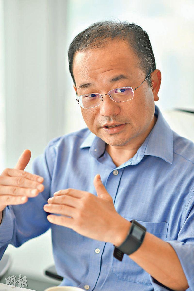 瑞信陳昌華認為,去槓桿減少基建投資,經濟放緩的預期亦影響民間投資,預料中國全年經濟增長比去年放緩,僅得6.5%。(蘇智鑫攝)