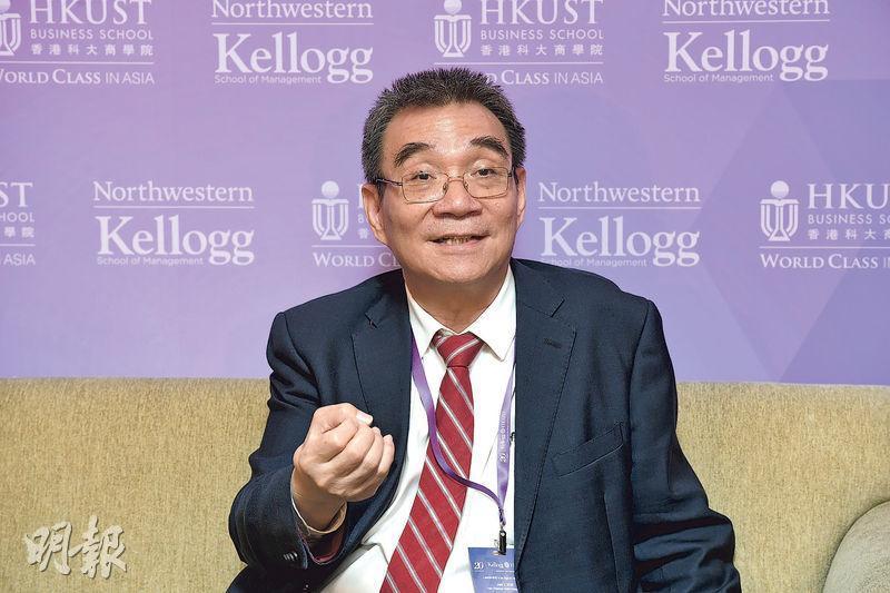 北京大學林毅夫指中國若大手拋售美國國債,可能刺穿美國股市的經濟泡沫。(楊柏賢攝)