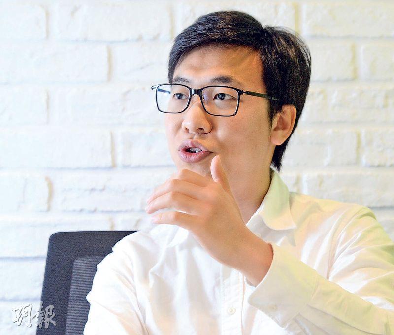Standard Kepler董事總經理鄧進一(圖)表示,ICO顧問工作,就是確保客戶無論公司架構及代幣發行部均屬合法,最後集資成功。(劉焌陶攝)