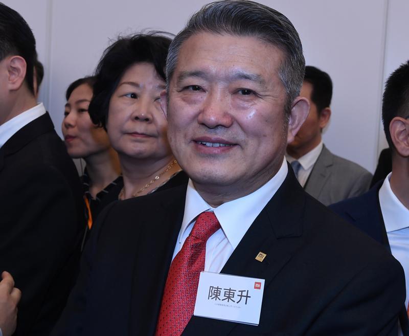 中共前領導人毛澤東的外孫女婿陳東升(劉焌陶攝)