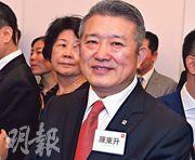 中共已故領導人毛澤東的外孫女婿陳東升昨日也有出席小米上市儀式。(劉焌陶攝)