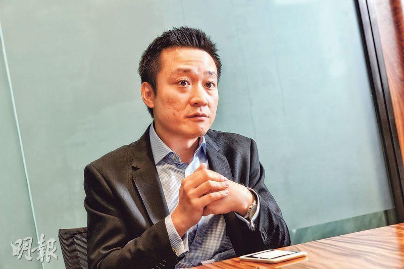 華夏基金ETF業務主管諸人進表示,內地市場增長能持續,加上經濟轉型順暢,建議今年可留意中國相關增長型ETF。(劉焌陶攝)