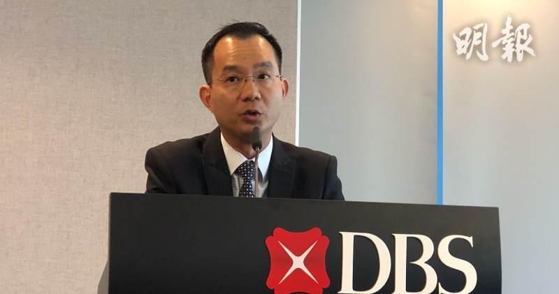 星展銀行高級經濟師謝光威預計,貿易戰將在美國中期選舉前會看到轉機。(廖毅然攝)