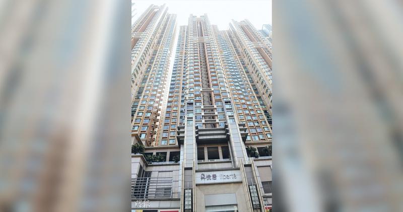 昇悅居3房單位,成交逼1400萬元破頂。