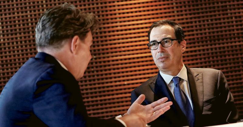 美財長:審視人幣有否受操縱 與特朗普「唱雙簧」 美元高位跌逾1%