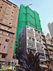恒地營業(二)部部署稍後推售西營盤藝里坊住宅項目1期,提供約240伙,涵蓋開放式至兩房單位,力吸上車客源。(林可為攝)