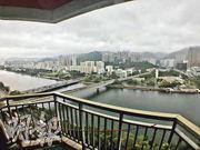 以1328萬元創出第一城成交價新紀錄的樓王單位,外望城門河及沙田市景,屬屋苑優質單位。
