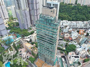 資策旗下渣甸山白建時道項目(圖)提供16伙豪宅單位,預計今年稍後時間推售。(劉焌陶攝)