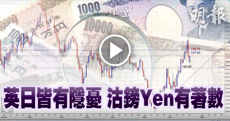 英日皆有隱憂 沽鎊Yen有著數
