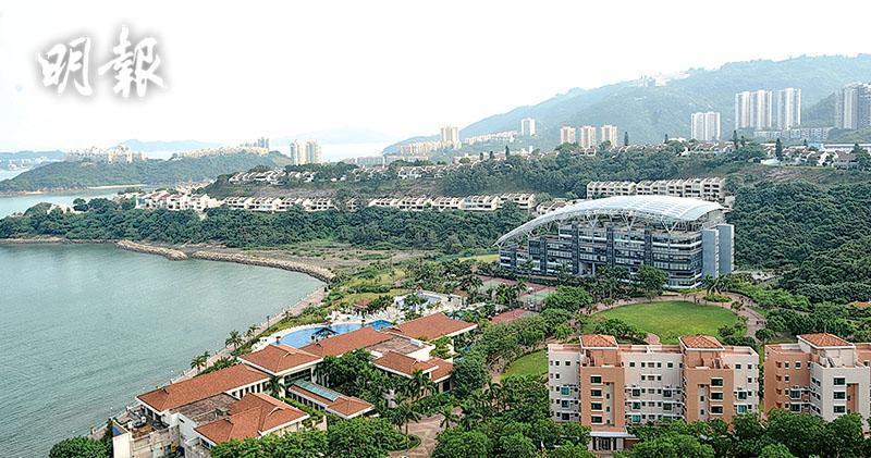 由香港興業發展的大嶼山愉景灣(資料圖片)