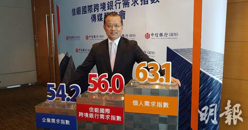 信銀國際首席經濟師廖群(歐陽偉昉攝)