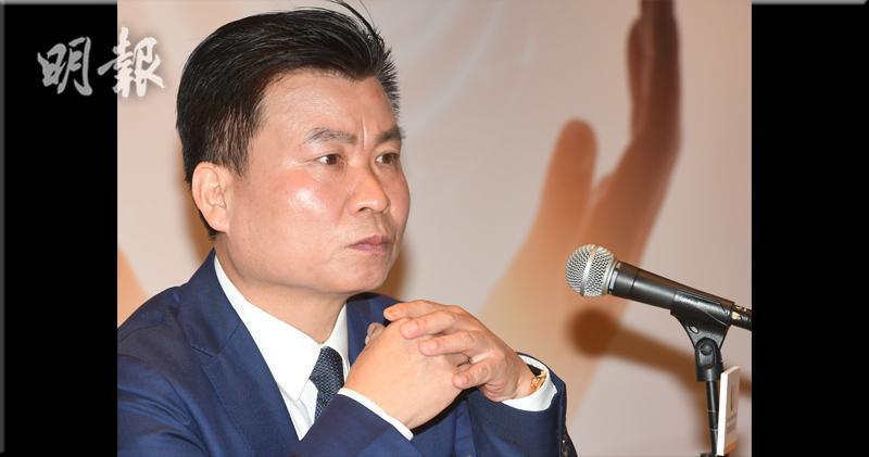 新城悅董事長、執行董事、首席執行官兼總經理戚小明(劉焌陶攝)