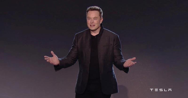 Tesla創辦人Elon Musk