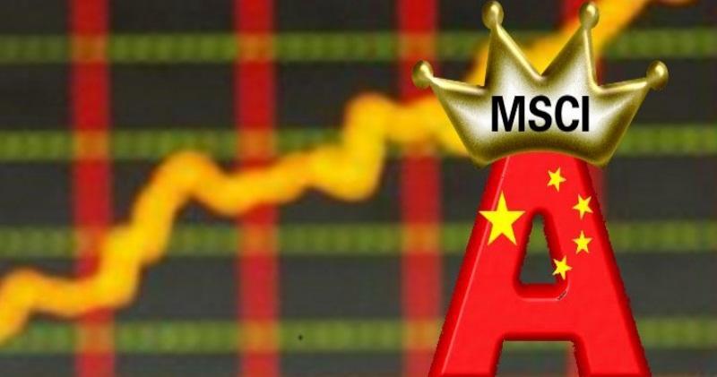 MSCI明年提高A股權重至20% 料吸金800億美元