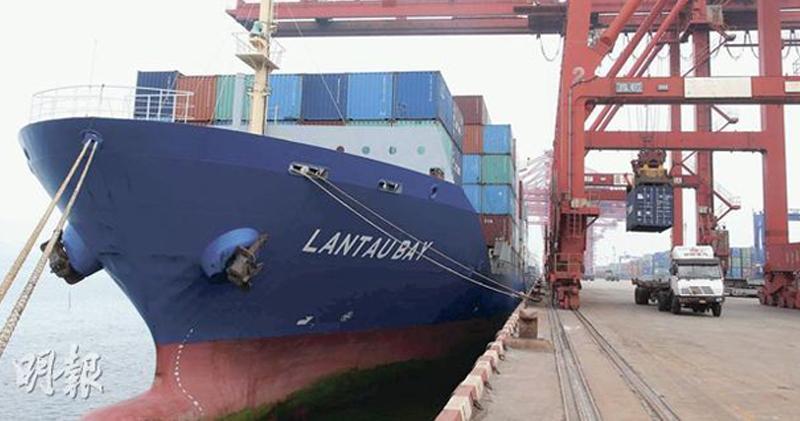 內地10月出口增兩成 遠勝預期