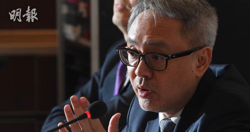 瑞聲董事總經理莫祖權(劉焌陶攝)