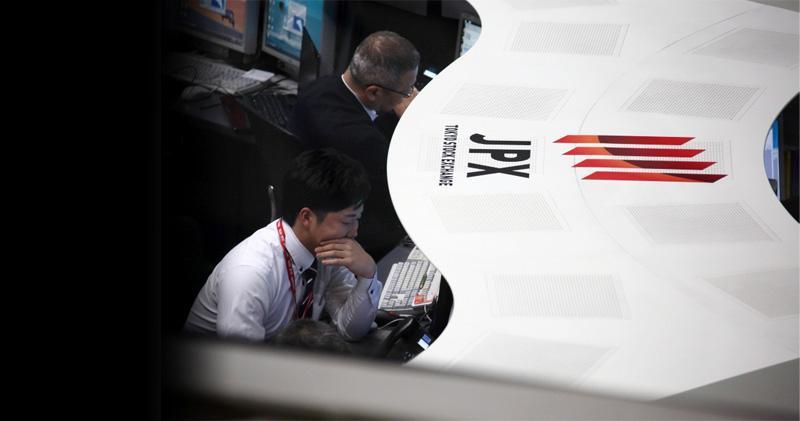 區內股市全線下跌 日股收挫236點